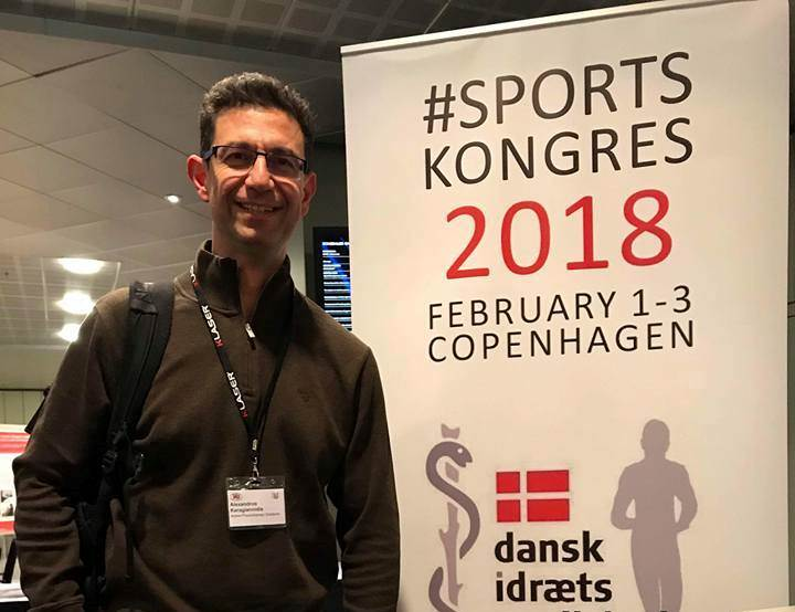 Alexandros Karagiannidis at Sports Congress 2018
