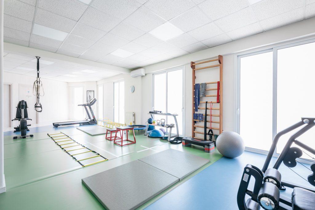 ο χώρος άσκησης του φυσικοθεραπευτή Αλέξανδρου Καραγιαννίδη